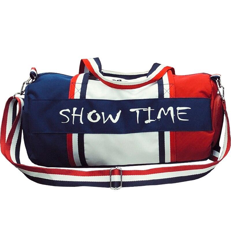 Treinamento ginásio saco de viagem dos homens sacos de esportes para fitness bolsa de ombro sapatos de armazenamento das mulheres esporte homme yoga formação bolsa