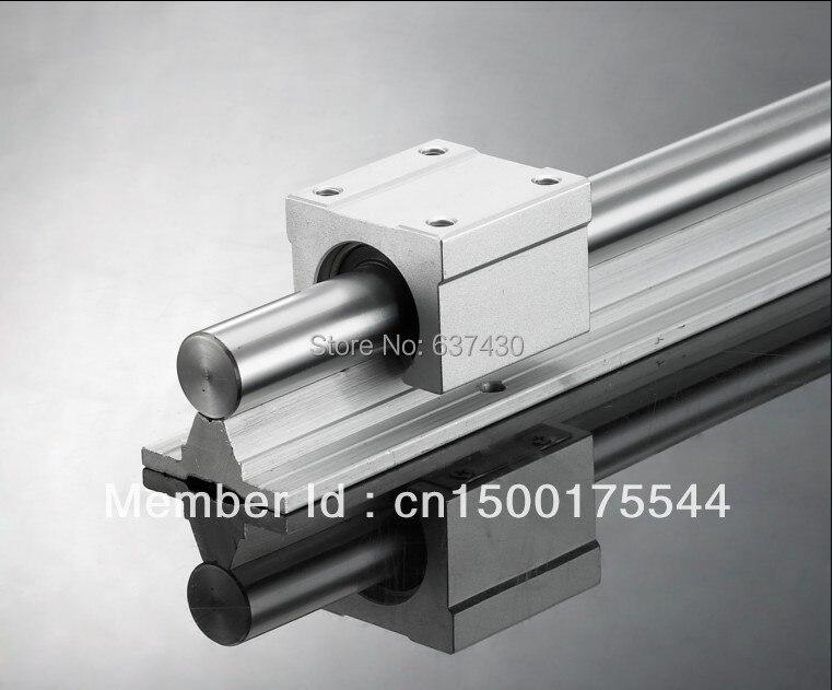 1pcs linear rail SBR40 L1500mm 2pcs SBR40UU linear block bearings