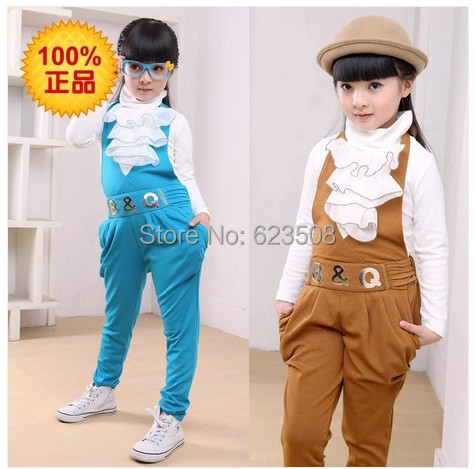 Aliexpress.com : Buy SuspenderS suit 14 year old female children's ...