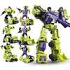 WJ WEIJIANG 6 w 1 Devastator transformacji zabawki chłopiec DX9 G1 robota ze stopu KO działania model figurki dla dzieci urządzenie inżynieryjne zabawki