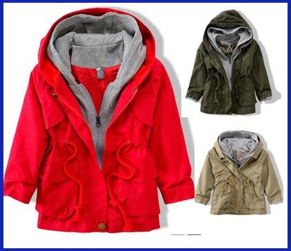 2017 Бренд Мужской детская одежда пальто и куртки для детей верхняя одежда весна и осень толстовки бесплатная доставка