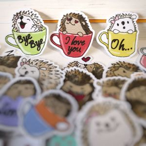 Pegatinas de dibujos animados de Hedgehog divertidas de cómics para niños, 20/40 Uds., pegatinas para bicicleta de Skateboard, pegatinas impermeables DIY