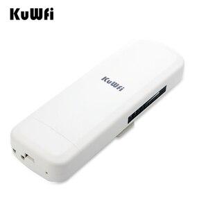 Image 5 - KuWfi 900Mbps sans fil CPE routeur pont sans fil extérieur longue portée 3.5KM WIFI répéteur WIFI Extender système pour caméra IP POE
