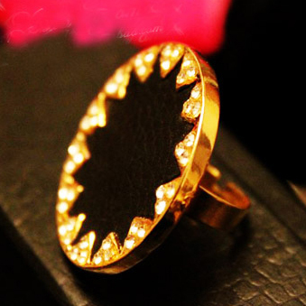 Accessories simple ring love finger ring female accessories