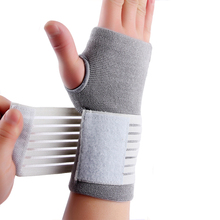 Professional elastic sports safety carpal tunnel tennis wrist bandage brace support hand palm brace support 1pcs 4 COLOR #ST6614 aolikes 1pcs cotton elastic bandage hand sport wristband gym support wrist brace wrap carpal tunnel