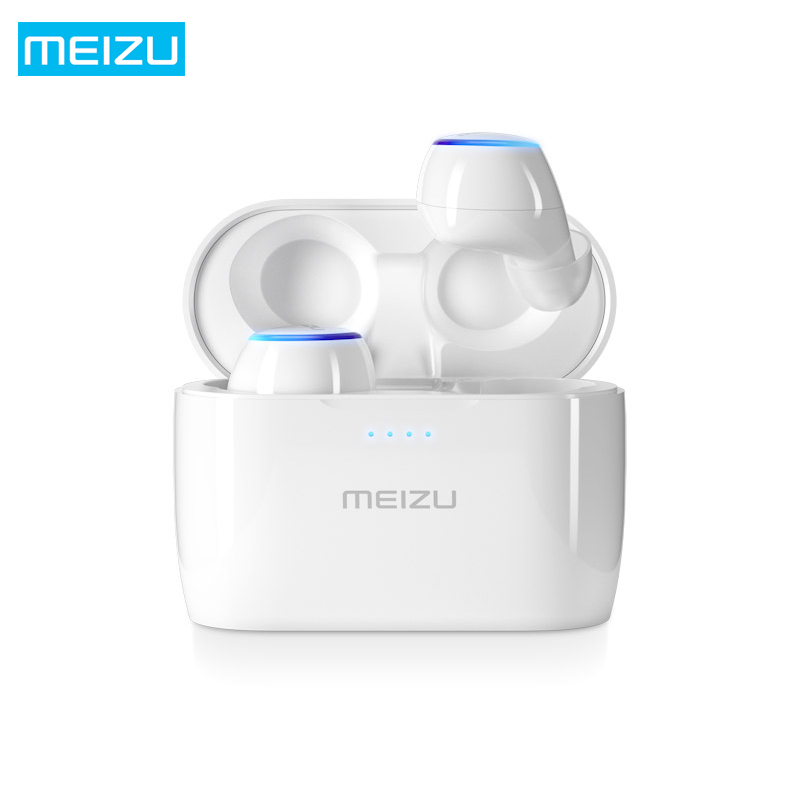 все цены на Original Meizu POP TW50 True Wireless Bluetooth 4.2 Earphones TWS Mini Sport IPX5 Waterproof Headset Earbuds for xiaomi iPhone онлайн
