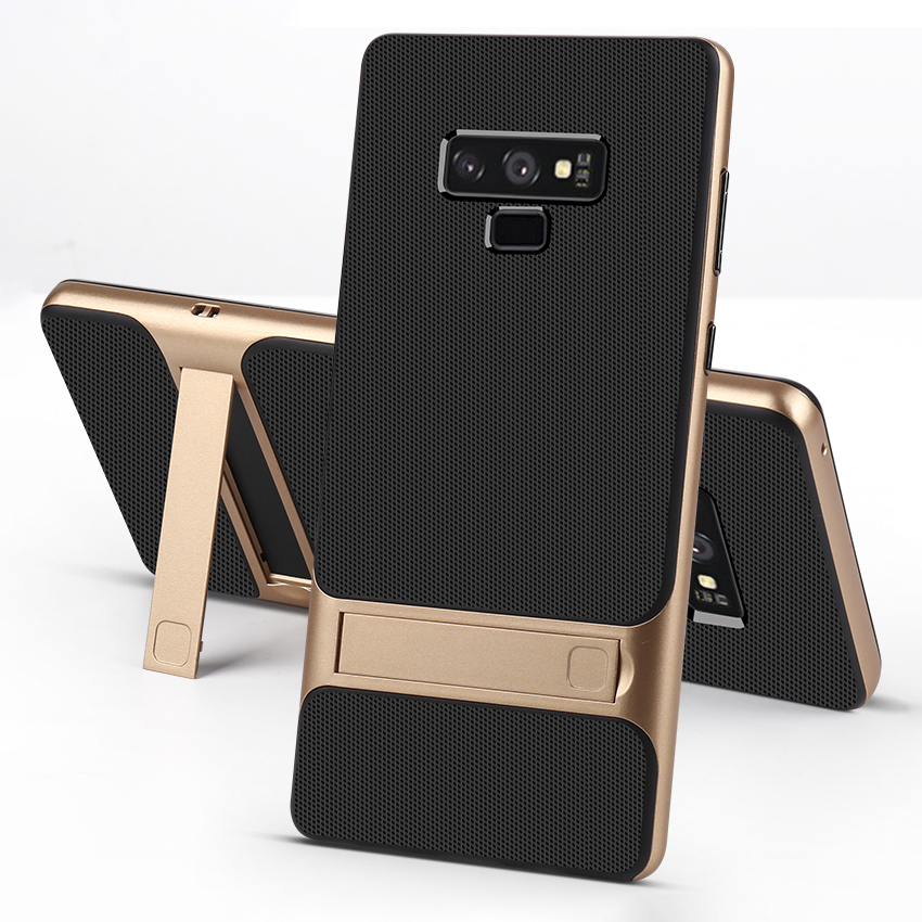 Silicone Mobile Cover Stand Case for Samsung Galaxy Note 9 Case Shockproof 360 Protective 3D Hybrid PC Note9 Fundas Capa Housing-in Fitted Cases from Cellphones & Telecommunications on Aliexpress.com | Alibaba Group