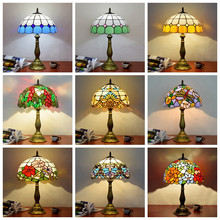 Mediterranean Decor Turkish Lamp With Lampshade tiffanylamp For Bedroom Living room Study room Table Decor Besides Lamp Fixtures(China)