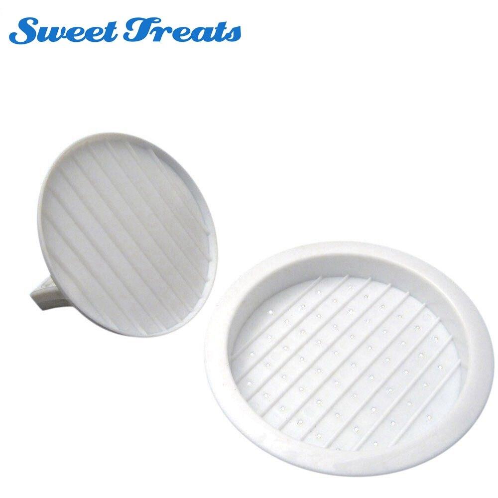 Sweettreats New Plastic Burger Press Hamburger Meat Beef Grill Cooking Maker Kitchen Mol ...