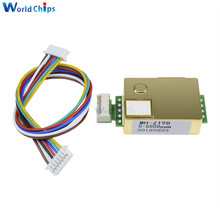1pcs MH Z19 NDIR CO2 Sensor Module infrared co2 sensor 0 5000ppm for CO2 Monitor Carbon Dioxide Sensor MH Z19B With Lines