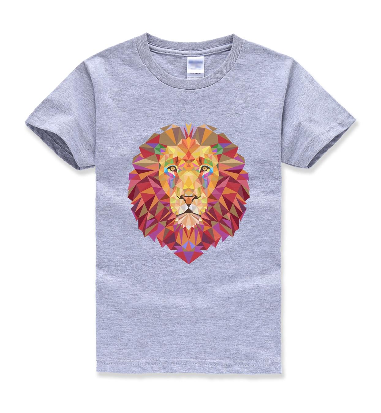 2018 Летний Новый модный бренд hipster футболка уличная топы для детей Смешные Симпатичные животные homme Футболки детская одежда для мальчиков mma