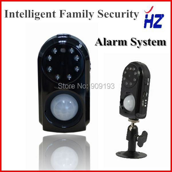 GSM Security Alarm System with Camera PIR Motion Detection MMS Function Night Vision Burglar alarm