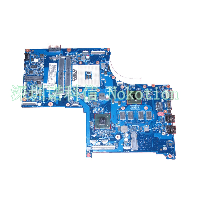 NOKOTION 720269-501 720269-001 For HP ENVY Series 17-J laptop motherboard 6050A2549601-MB-A02 GeForce GT740M 2G Mainboard 744020 001 fit for hp probook 650 g1 series laptop motherboard 744020 501 744020 601 6050a2566301 mb a04