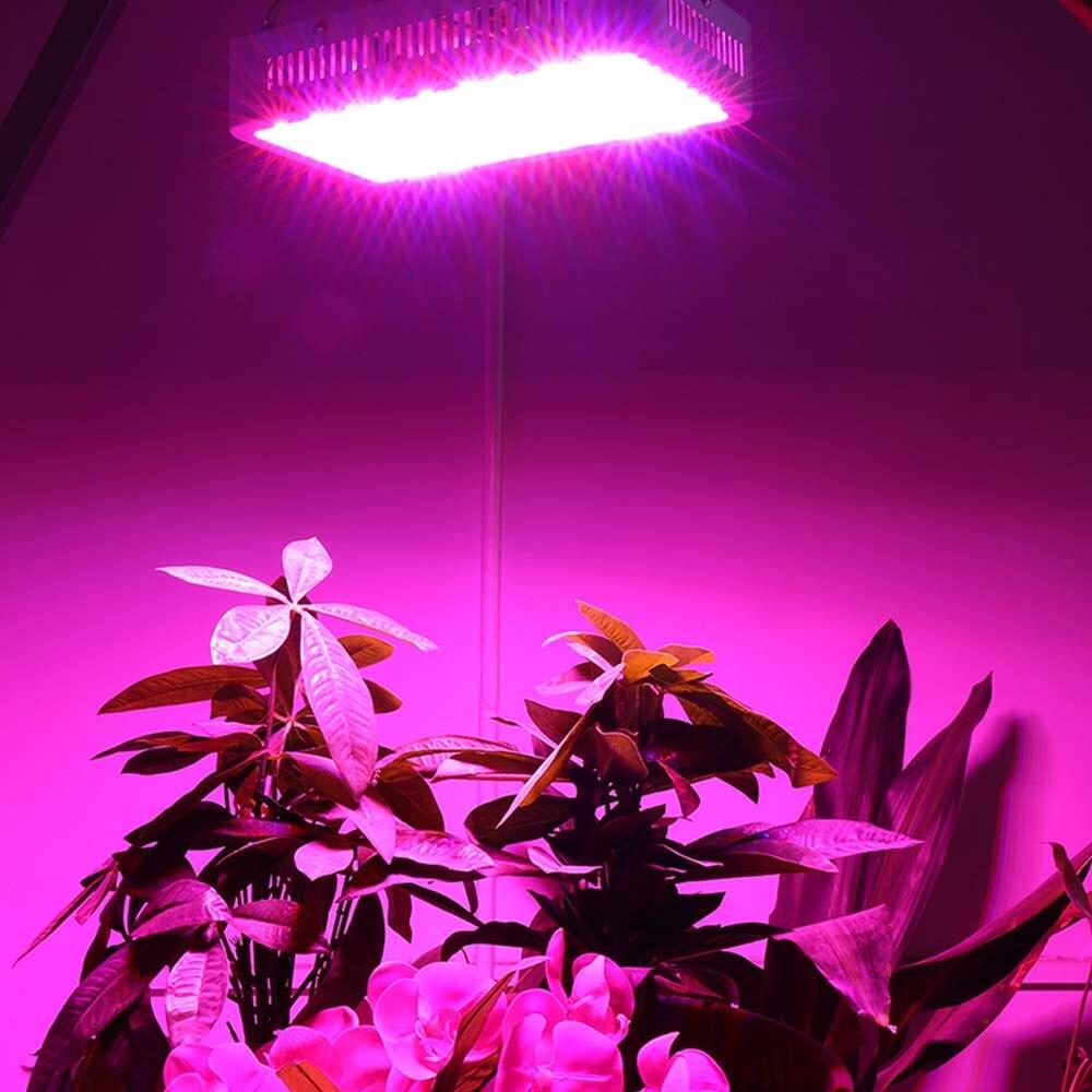 цена на 85-265V Full Spectrum LED Grow Light 600W 900W Plant Grow Light Lamp LED For Plants Aquarium Hydroponics Lamp AU/US/EU/UK Plug