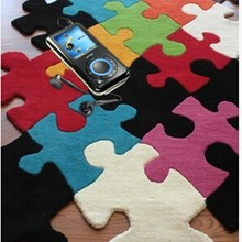 Качественный роскошный мозаичный разноцветный пазл гетероморфный журнальный столик piaochuang ковер может быть сделан на заказ