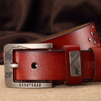 BlackCattle Mens Luxury Brand Belt Business Belts Buckle Genuine Leather Wide Belt Cinturon High Quality Designer