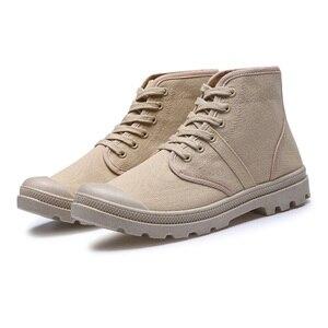 Image 4 - Cuculus/мужские военные тактические ботинки; Армейские ботинки в стиле Дезерт; Обувь для путешествий в армейском стиле; Кожаные ботильоны; Мужские ботинки; 5815