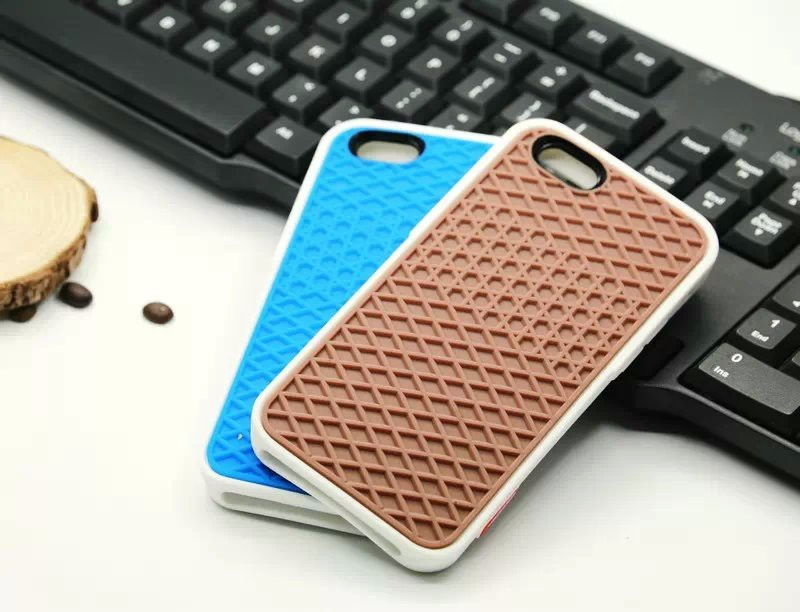 new concept 293fd f32eb US $2.9 |Fashion Vans/Waffle Case For Apple iPhone 4 4S 5 5C 5S 6 6S SE  Cover Soft Rubber Silicone Waffle Shoe Sole Mobile Phone on Aliexpress.com  | ...