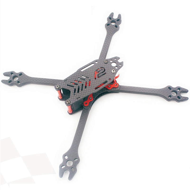 The newest DIY F2 mito GS pure carbon fiber quadcopter frame unassembled 4/5/6/7 inches for DIY FPV mini drone