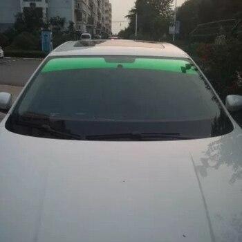 20X150 ซม.ด้านหน้ากระจกฟอยล์ SOLAR Protection Gradient สีดำรถฟิล์มย้อมสีฟิล์มบังแดดสำหรับขับรถ