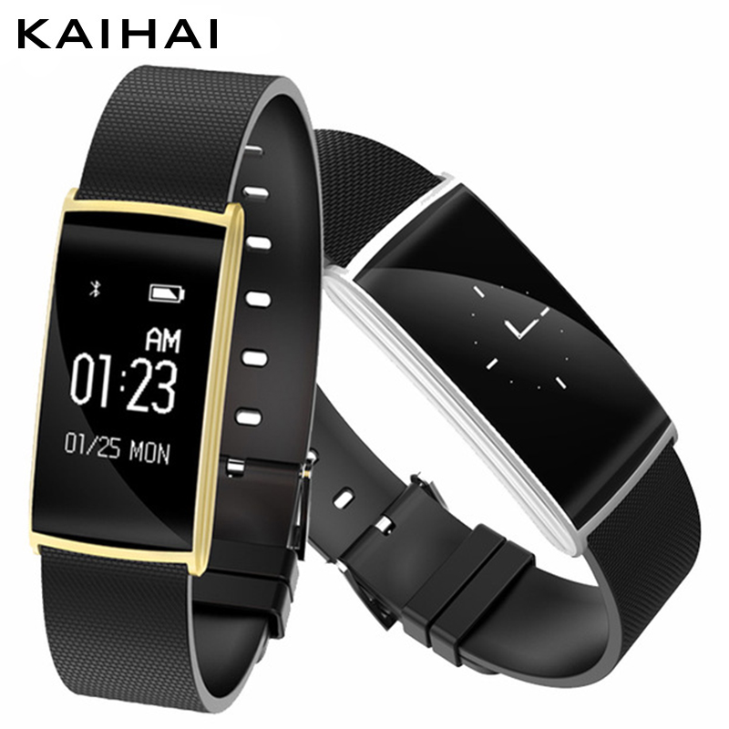 KAIHAI Smart wrist Band Heart rate Monitor Blood Pressure Oxygen Oximeter Sport Bracelet Watch intelligent For Android iphone sports blood pressure oxygen heart rate fitness smart watch wrist band for iphone and android phones