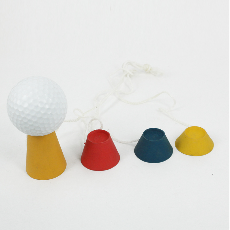 Andux Golf Rubber Winter Golf Tees 4 in a Set