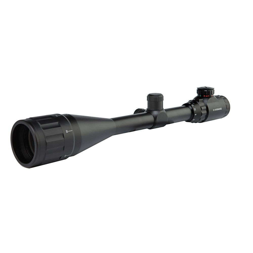 High Quality 6-24x50 EG Riflescope Red Green Illuminated Air Rifle Gun Hunting Scope Reticle Tactical Scopes 11/20mm Rail Mount mossy oka lb 3 9x32 hunting scopes tactical riflescope sniper scope outdoor tactical hunting gun with 11 20mm mount