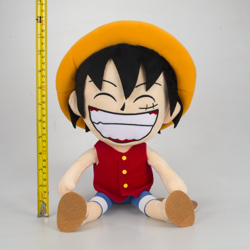 Us 10 86 8 Off Anime One Piece Plush Toy Monkey D Luffy Straw Hat Doll Soft Stuffed Toys Gifts In Movies Tv From Toys Hobbies On Aliexpress