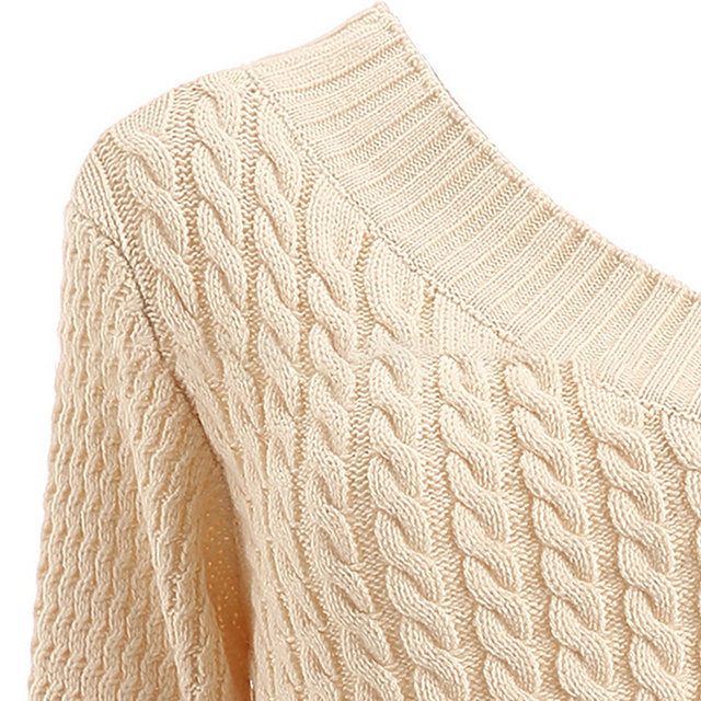 One Shoulder Sweater - 3 Sizes 3