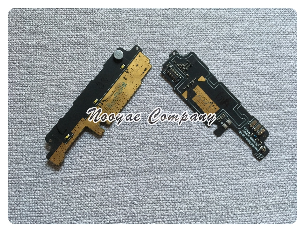 Novaphopat For Lenovo A706 Microphone flex Cable With Mic vibrator  Connector Key Light Board Replacement +Tracking Number