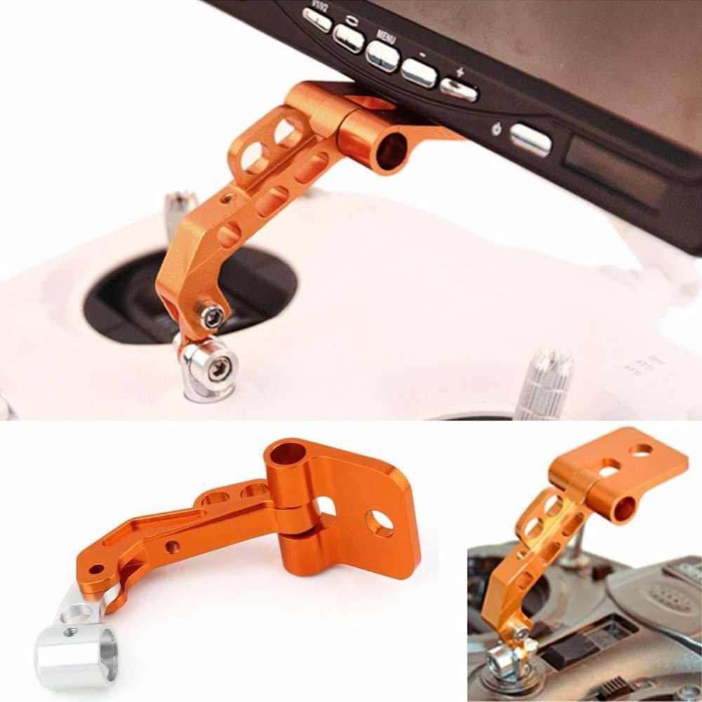 RC Model Aerial CNC Aluminum Alloy FPV Monitor Mount Bracket for Transmitters  Dropshipping J11