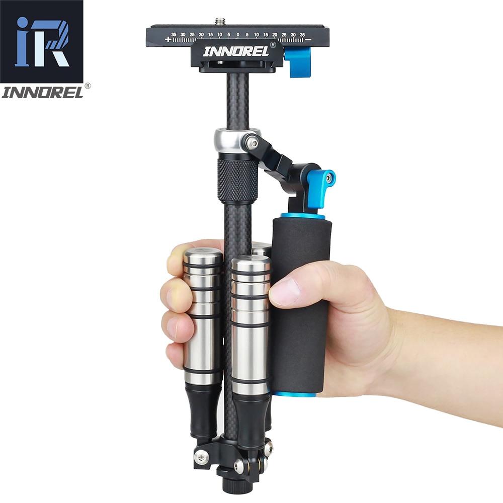 SP Mini Handheld Stabilizer Lightweight Carbon Fiber Steadicam For DSLR Video Camera DV Light Steady Cam High Build Quality