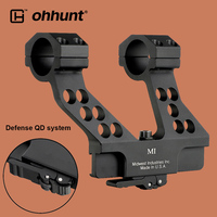 ohhunt Tactical 25.4mm 30mm Scope Mount Rings Elite Defense Quick Detach System Side Rail Base for AK47 AK74 or Print Your LOGO
