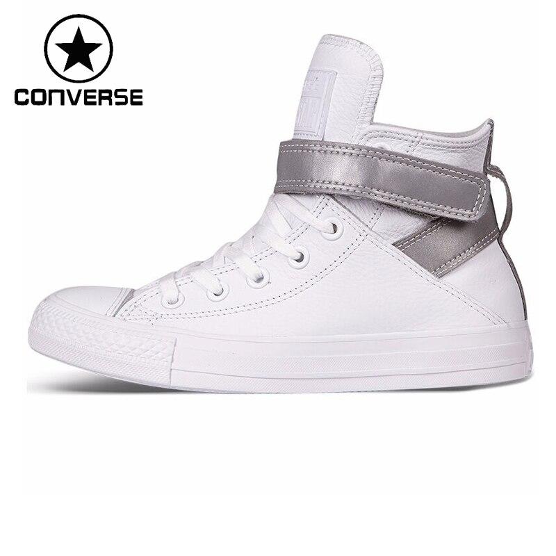 Prix pour Original Nouvelle Arrivée Converse all star brea réfléchissant Femmes de Planche À Roulettes Chaussures Sneakers