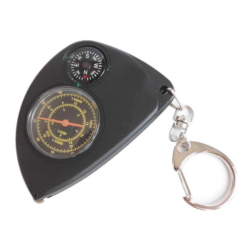 2017 Портативный одометром многофункциональный брелок компас дальномер открытый инструмент путешествия высокое качество