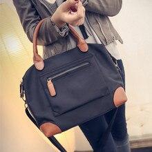 Fashion European and American Style Woman Nylon Trapeze Handbag Famous Brand Women Shoulder Bags Designer High