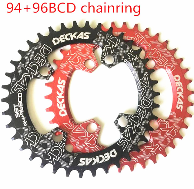 Considerate Deckas Round/oval Bcd 94+96mm 94+96bcd 32/34/36/38t Mtb Mountain Bike Bicycle Chainring For Alivio M4000 M4050 Gx Crank Bicycle Crank & Chainwheel