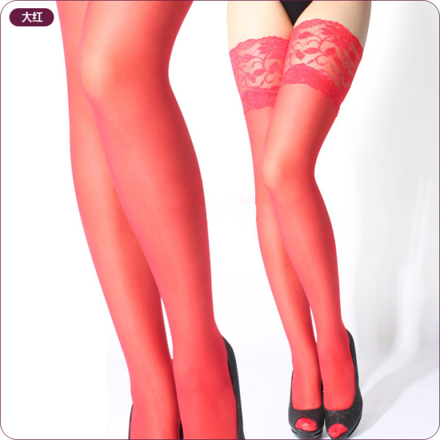 Thin Lace  stockings hose for women 2