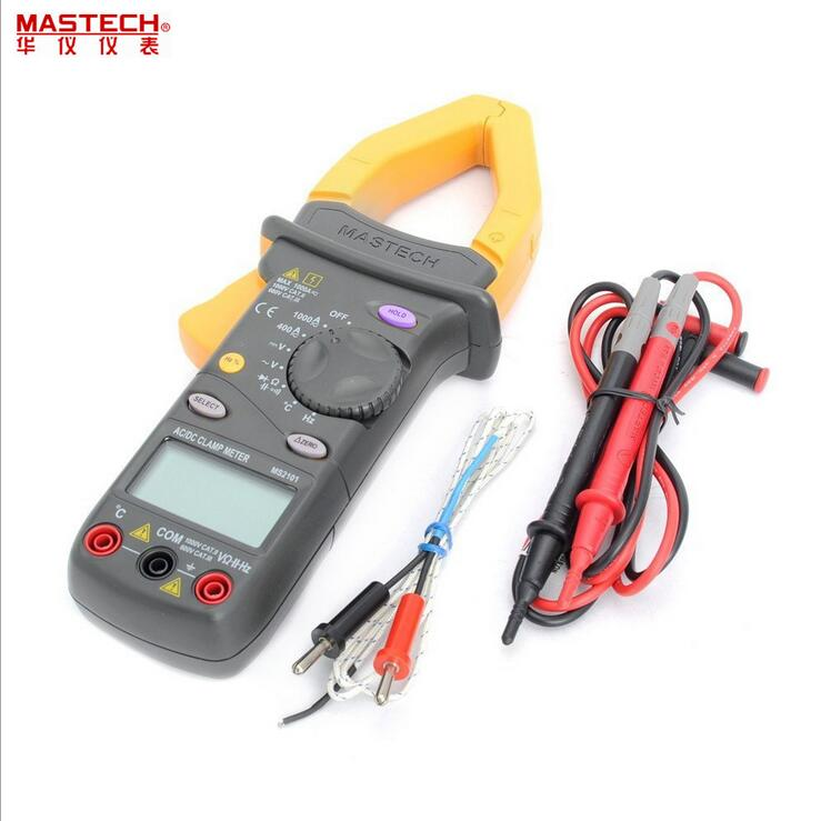 MASTECH MS2101 Handheld Digital multimeter Auto Range AC DC Capacitance Resistance Current frequency Voltage Clamp Meter