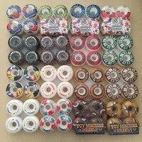 2016 PIG 4pcs Set Pro 50mm 52 54mm USA Skateboard Wheels For Skateboarding Color Changed Ruedas