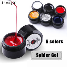 Get more info on the Wire Drawing Nail Gel Spider Web Creative Line Painting Gel Polish Pulling Lacquer Varnish Silk Nail Art Design Accessory
