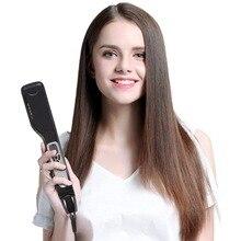 Titanium Ceramic Steam Hair Straightener