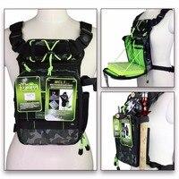 Brand New 21x8x23cm Fishing Tackle Bag Camouflage Camo Multifunction Waist Fly Fishing Rod Bag With Box