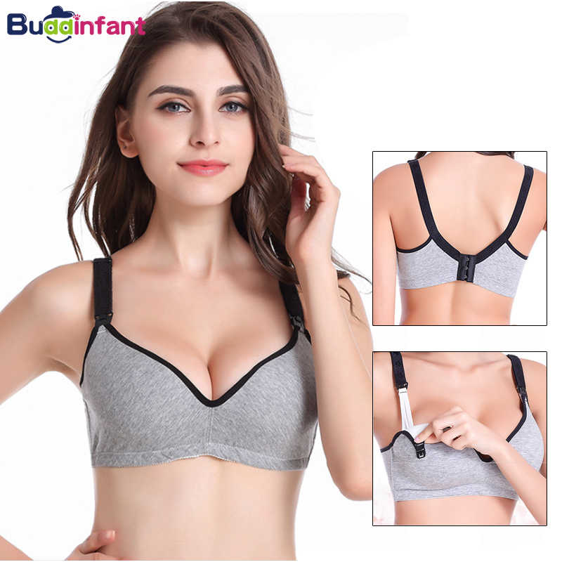 5189737a41235 Breast feeding Maternity Nursing Bra sleep bras for pregnant women Underwear  Wireless pregnancy soutien gorge clothing