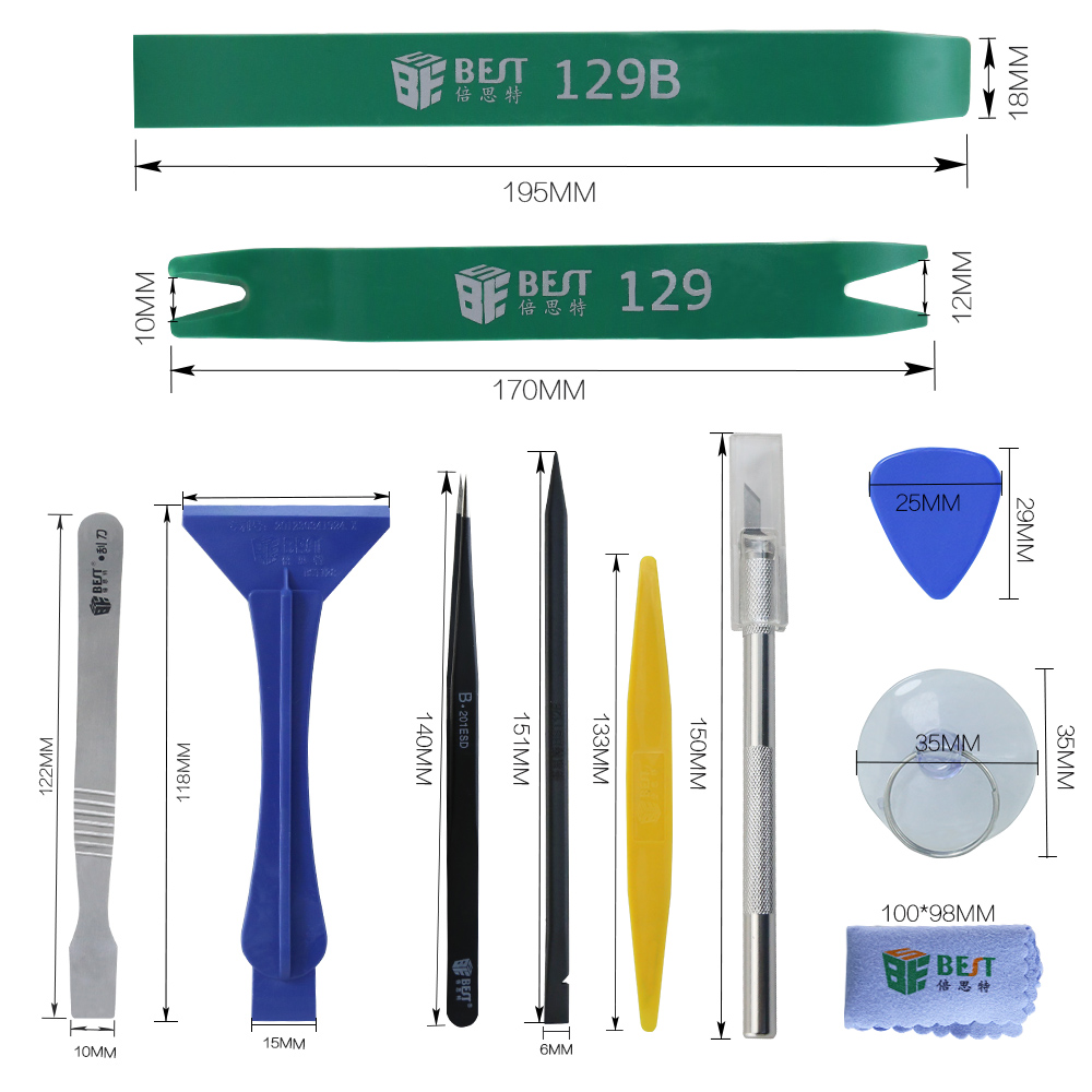 Kit di strumenti di riparazione strumento cacciavite multiuso - Set di attrezzi - Fotografia 4