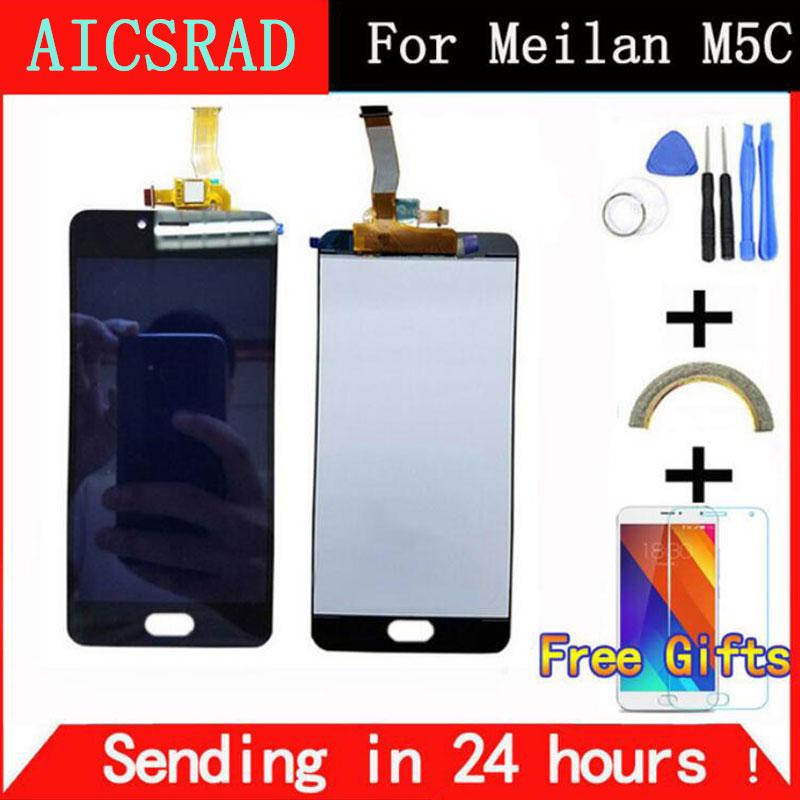 AICSRAD nuevo reemplazo pantalla LCD + pantalla táctil digitalizador para Meizu M5C/Meilan 5C negro Color blanco envío gratis
