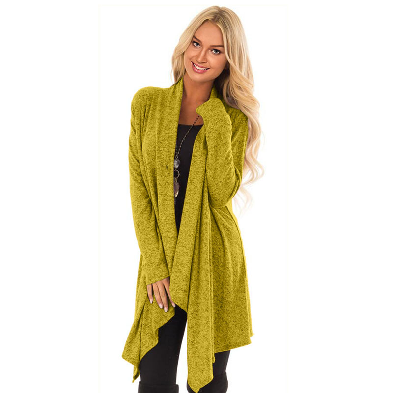 Liva De gray Femme Mujer Suéter Punto Red Hiver Lc85250 Otoño Yellow Chica  Invierno 2018 E Casual Abierto Sólido Navidad Jersey ... 0bbf4227491f
