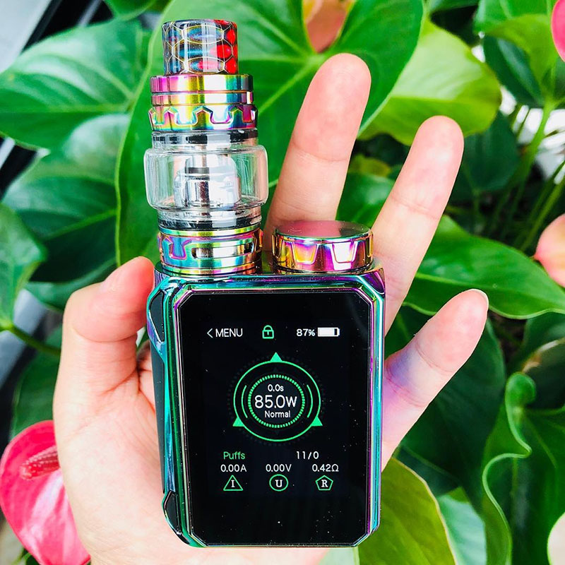 E Cigarette SMOK G-PRIV Baby Kit Luxe Edition 85W Vaporizer with 4.5ml TFV12 Baby Prince Tank G-Priv Baby VS G-PRIV 2 KIT Vape original smok g priv 2 kit luxe edition with 8ml tfv12 prince tank g priv 2 mod electronic cigarette vape kit vs mag x priv kit