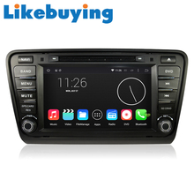 Likebuying Android 4.4.4 Car 2 Din QUAD CORE  16G 1024*600   DVD GPS Radio Stereo Navigator  for Skoda Octaiva 2014