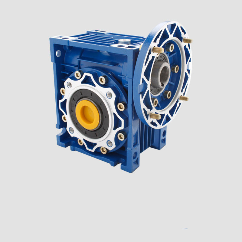 ФОТО 40:1 Worm Gear Reducer NMRV063 25mm Output 3 Phase 380v Single/2 Phase 220v 4 Pole 2400RPM 750w Asynchronous Motor